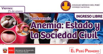 (Conferencia anemia) MIDIS: Estado y la sociedad civil