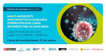(Evento) FONDECYT: Difusión de resultados del proyecto Multi-morbidity and infectious diseases