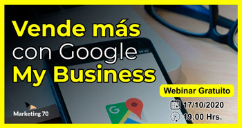 Webinar Gratuito: Vende más con google my business