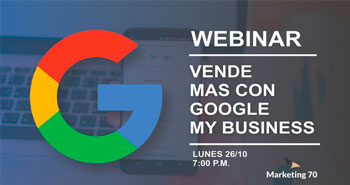 Webinar Virtual Gratuito: Vende más con Google Business