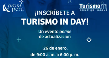 (Evento Online Gratuito) PROMPERÚ: Turismo In DAY