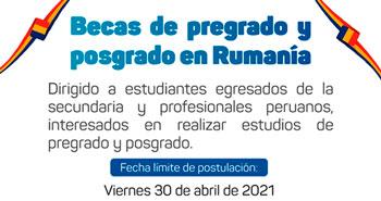 Becas Para Peruanos Convocatorias 2021