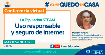 Conferencia Virtual Gratuita: Uso responsable y seguro de internet