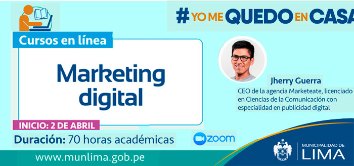 Curso en Linea: Marketing Digital