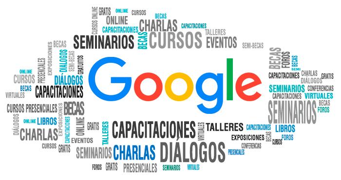 94ca559e2 GOOGLE CAPACITACIONES 2019  CURSOS gratuitos - Charlas - Seminarios -  Talleres - Libros - Becas