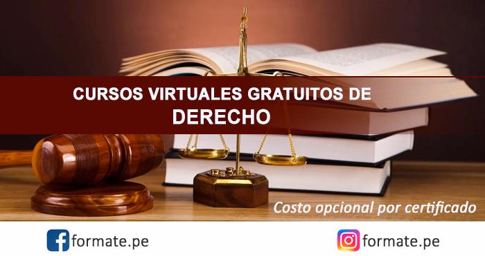 Cursos Online Gratuitos De Derecho Para Estudiantes Profesionales
