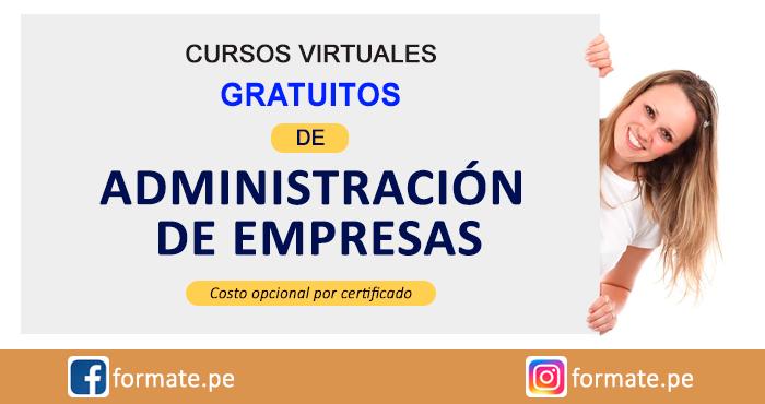 Cursos Virtuales Gratis De Administracion De Empresas