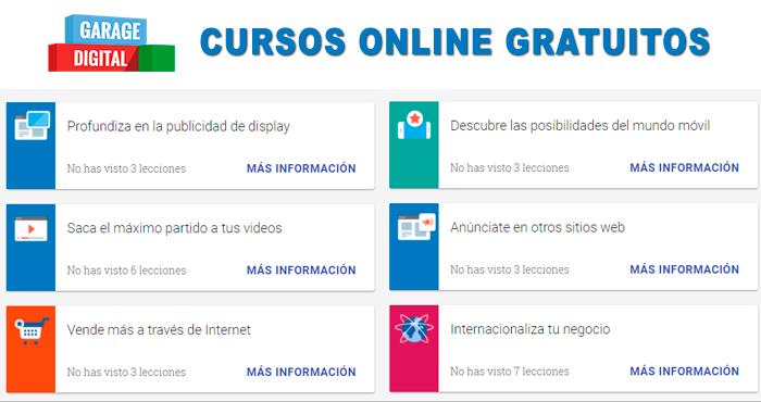 9c038b602 Google ofrece 23 Cursos Online gratuitos con certificado
