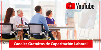 Canales Gratuitos de YouTube de Capacitación Laboral
