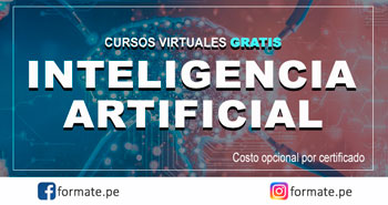 Cursos Virtuales Gratuitos de Inteligencia Artificial