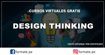 Cursos virtuales gratis de Design Thinking